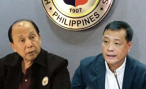 Quezon 3rd District Representative and House Minority Leader Danilo Suarez